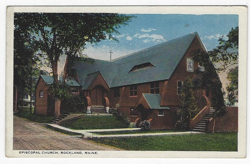 Image for EPISCOPAL CHURCH, ROCKLAND, MAINE