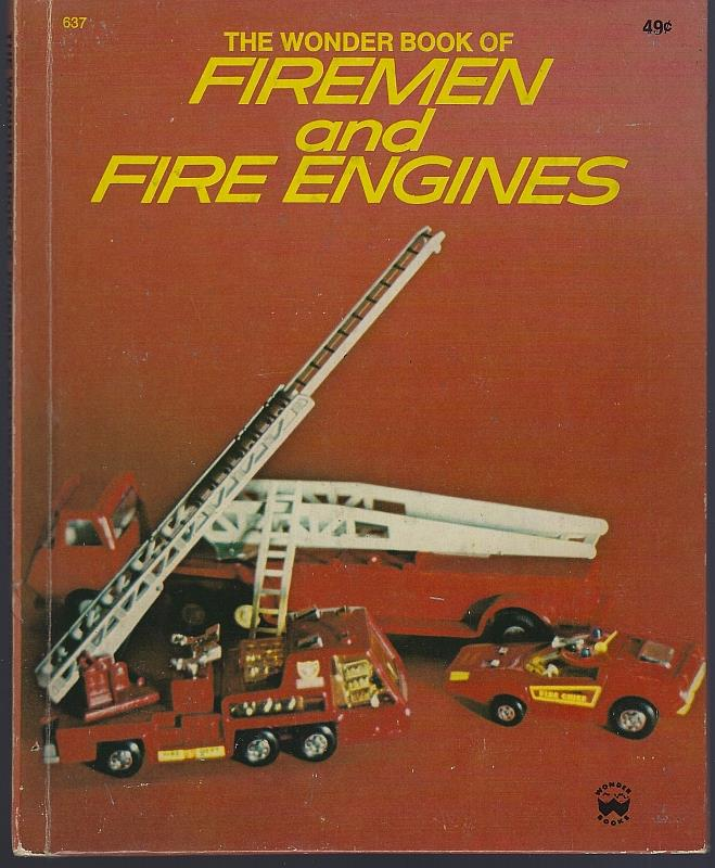 Image for WONDER BOOK OF FIREMEN AND FIRE ENGINES
