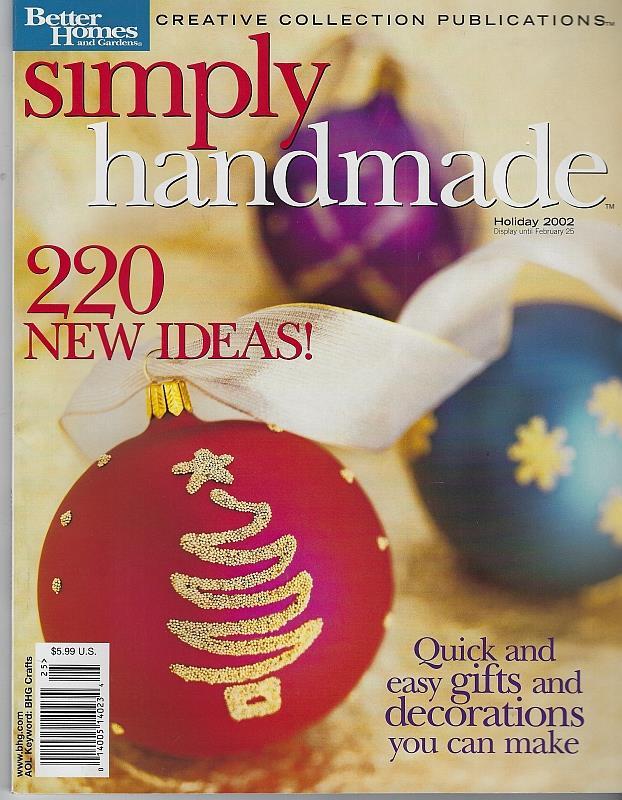 Image for SIMPLY HANDMADE MAGAZINE 2002