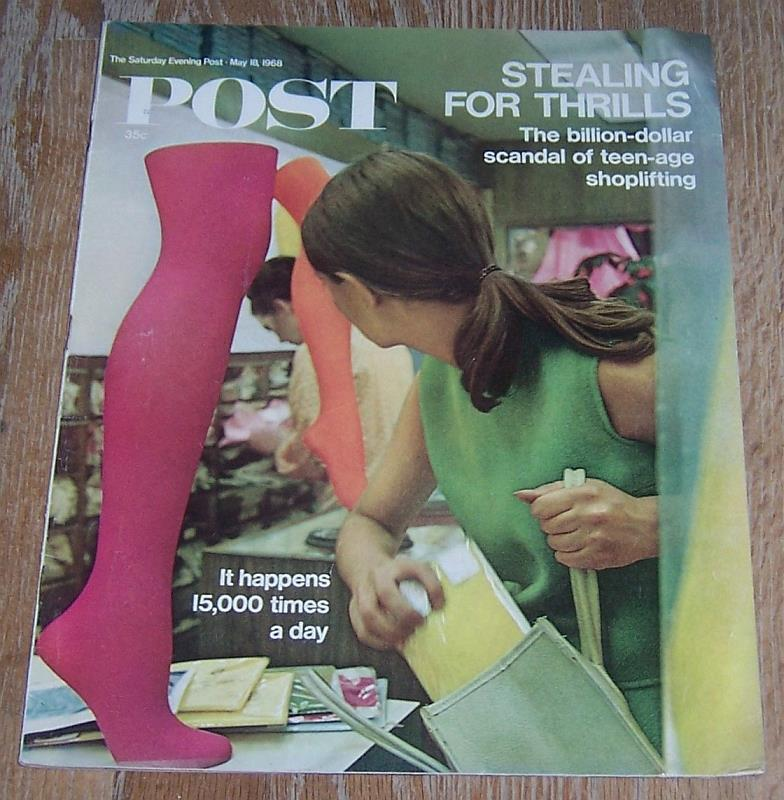 Image for SATURDAY EVENING POST MAGAZINE MAY 18, 1968