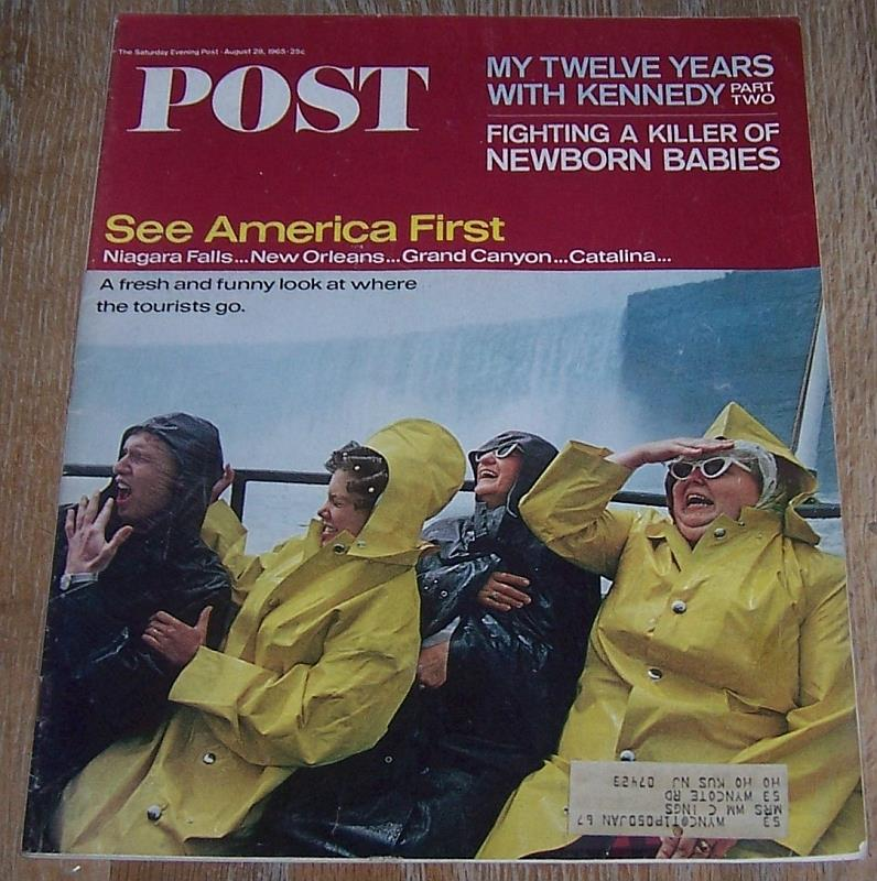 Image for SATURDAY EVENING POST MAGAZINE AUGUST 28, 1965