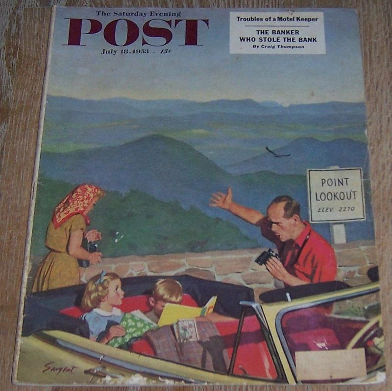 Image for SATURDAY EVENING POST MAGAZINE JULY 18, 1953