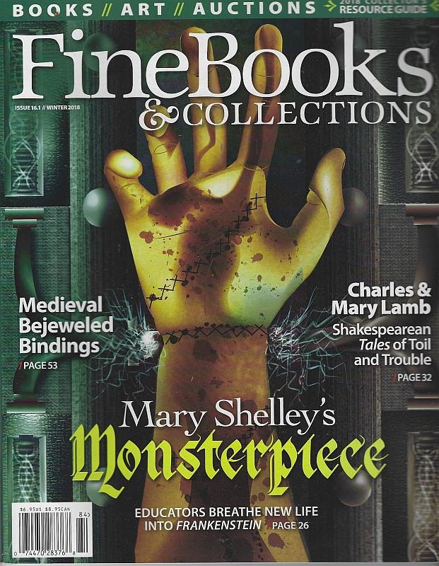 Image for FINE BOOKS AND COLLECTIONS MAGAZINE WINTER 2018