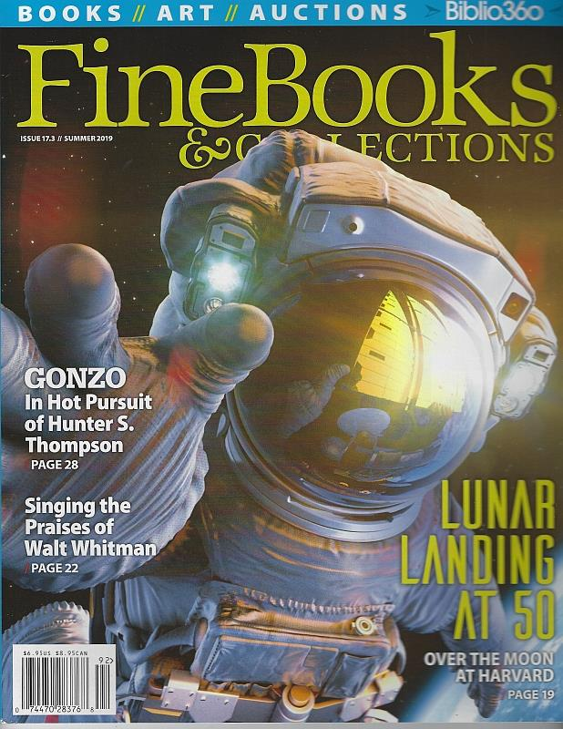 Image for FINE BOOKS AND COLLECTIONS MAGAZINE SUMMER 2019