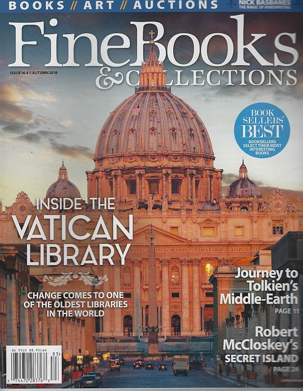 Image for FINE BOOKS AND COLLECTIONS MAGAZINE AUTUMN 2018