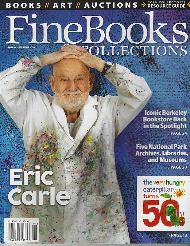 Image for FINE BOOKS AND COLLECTIONS MAGAZINE WINTER 2019