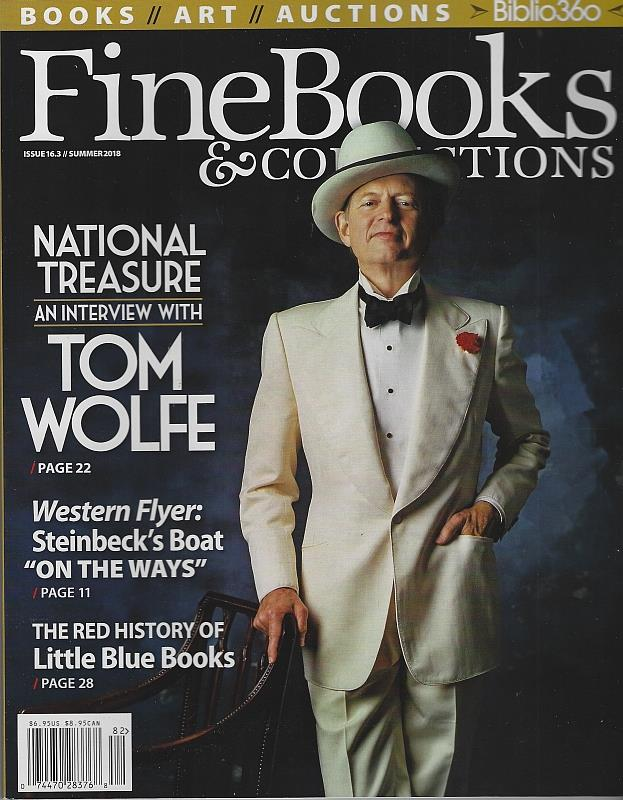 Image for FINE BOOKS AND COLLECTIONS MAGAZINE SUMMER 2018