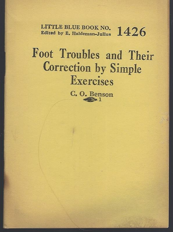 Image for FOOT TROUBLES AND THEIR CORRECTION BY SIMPLE EXERCISES