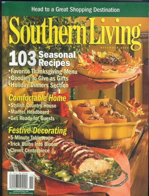 Image for SOUTHERN LIVING MAGAZINE NOVEMBER 2004
