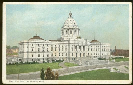 Image for STATE CAPITOL, ST. PAUL, MINNESOTA