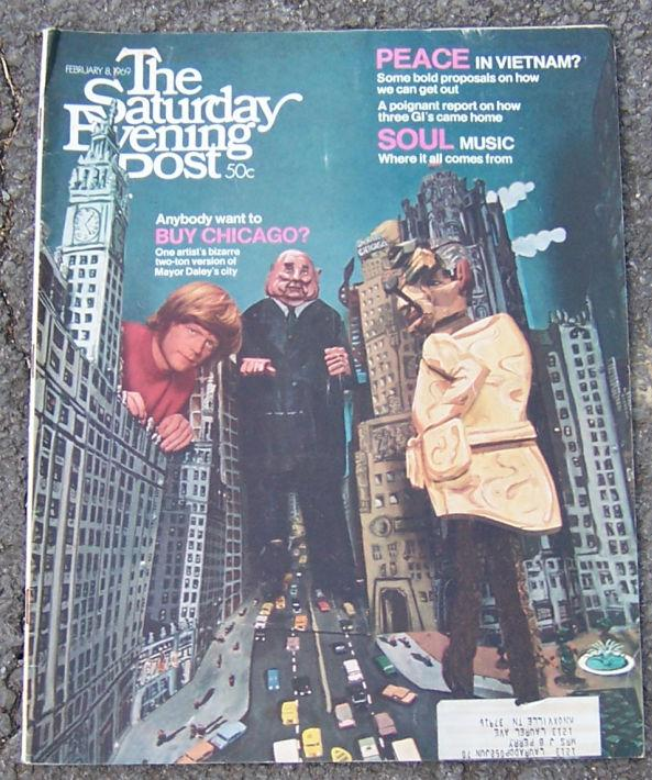 SATURDAY EVENING POST MAGAZINE FEBRUARY 8, 1969, Saturday Evening Post
