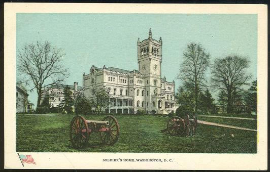 SOLDIER'S HOME, WASHINGTON D.C., Postcard
