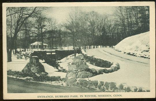 Image for HUBBARD PARK IN WINTER MERIDEN, CONNECTICUT