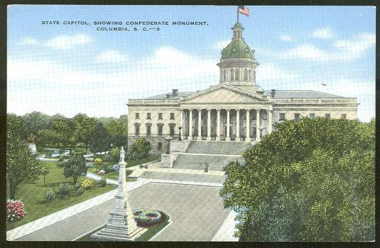 STATE CAPITOL, COLUMBIA, SOUTH CAROLINA, Postcard
