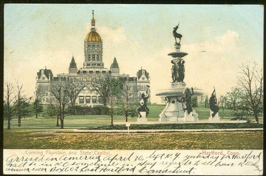 Image for CORNING FOUNTAIN AND CAPITOL, HARTFORD, CONNECTICUT