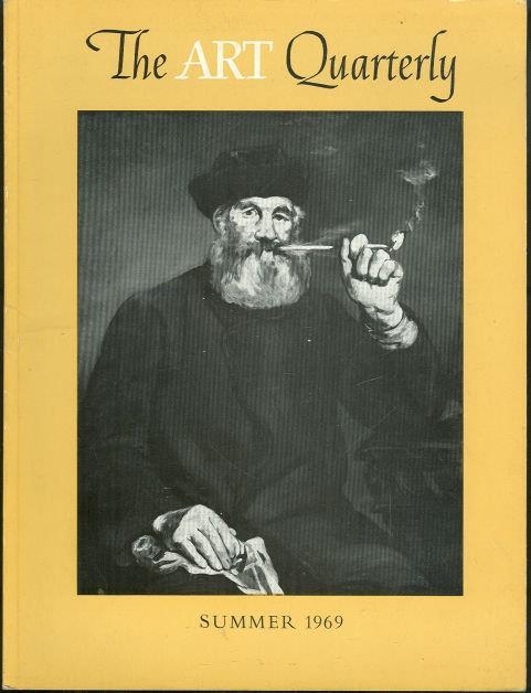 ART QUARTERLY SUMMER 1969, Lanes, Jerrold editor