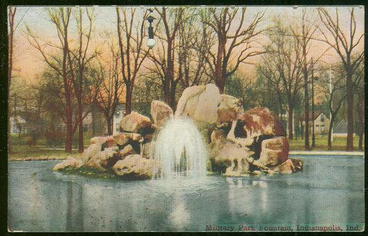Image for MILITARY PARK FOUNTAIN, INDIANAPOLIS, INDIANA