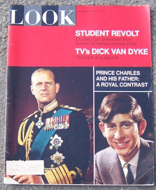 LOOK MAGAZINE APRIL 16, 1967, Look Magazine