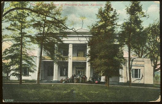 HERMITAGE, HOME OF PRESIDENT JACKSON, NASHVILLE, TENNESSEE, Postcard