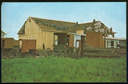 Image for AMISH BARN RAISING, A COOPERATIVE EFFORT