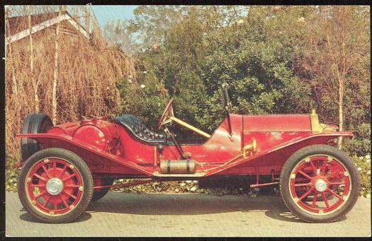 1911 MARMON SPEEDSTER MODEL 32, Postcard