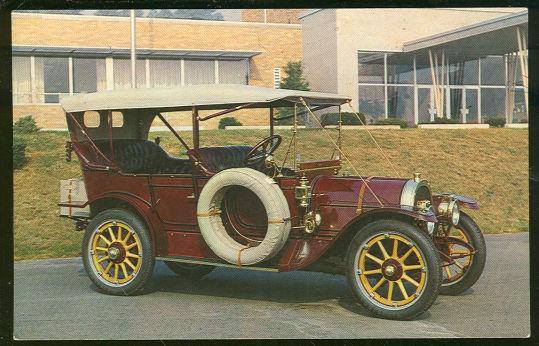 1911 POPE HARTFORD TOURING CAR ON DISPLAY AT LONG ISLAND AUTO MUSEUM, SOUTHHAMPTON, NEW YORK, Postcard