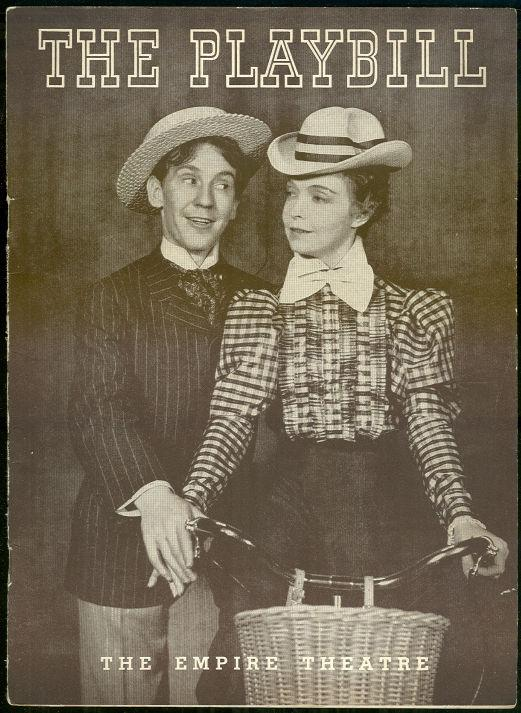 BURGESS MEREDITH AND LILLIAN GISH IN THE STAR WAGON JANUARY 3, 1938, Playbill