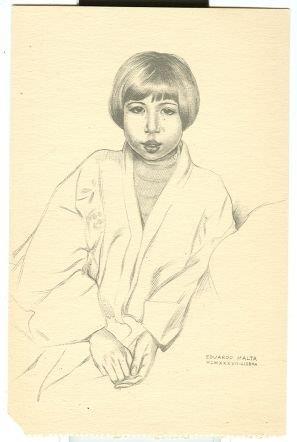 EUGENIA BY EDUARDO MALTA, Postcard
