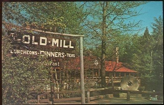 OLD MILL, WESTMINSTER, MASSACHUSETTS, Postcard