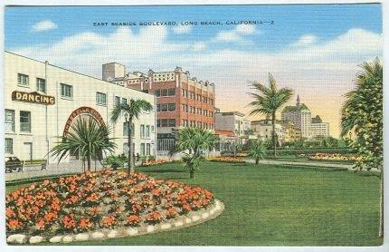 EAST SEASIDE BOULEVARD, LONG BEACH, CALIFORNIA, Postcard