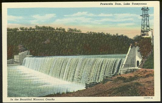 Image for POWERSITE DAM, LAKE TANEYCOMB, MISSOURI