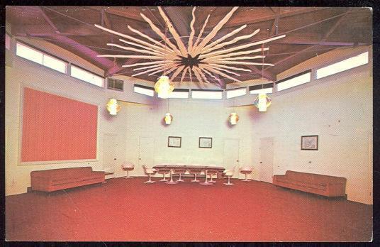 CONFERENCE ROOM, PONDEROSA INN, INTERSTATE 80, BURLEY, IDAHO, Postcard