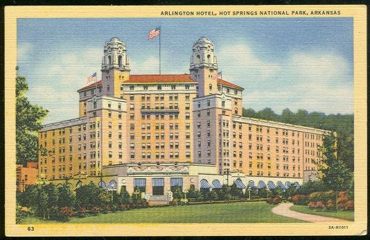 Image for ARLINGTON HOTEL, HOT SPRINGS, ARKANSAS