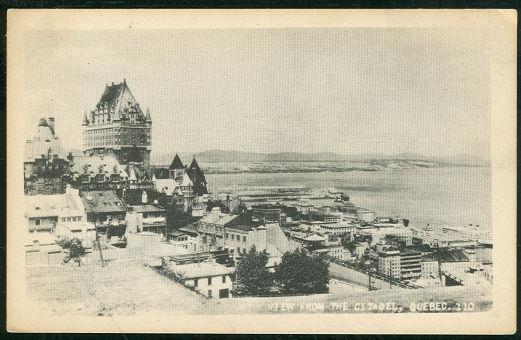 Image for VIEW FROM THE CITADEL, QUEBEC, CANADA