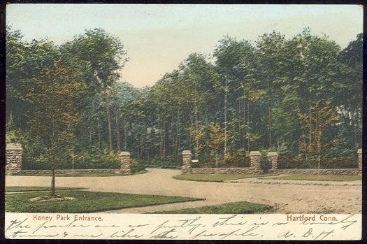 Image for KANEY PARK ENTRANCE, HARTFORD, CONNECTICUT