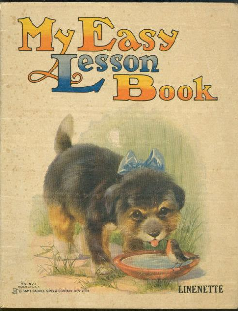 MY EASY LESSON BOOK, Children's Book