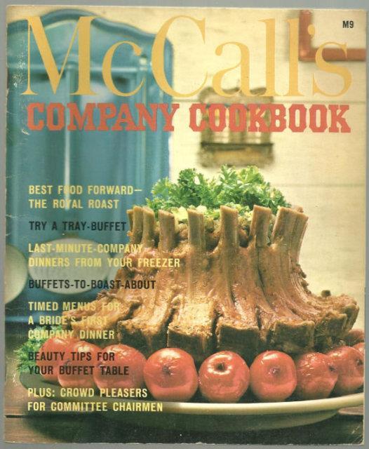 MCCALL'S COMPANY COOKBOOK, Food editors Of McCall's
