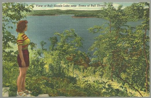 Image for VIEW OF BULL SHOALS LAKE NEAR TOWN OF BULL SHOALS, ARKANSAS