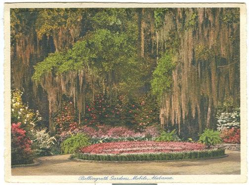 BELLINGRATH GARDENS, MOBILE, ALABAMA, Postcard