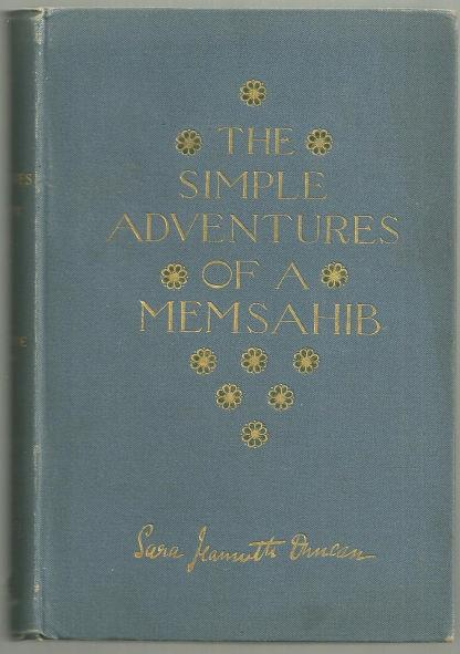 SIMPLE ADVENTURES OF A MEMSAHIB, Duncan, Sara Jeannette