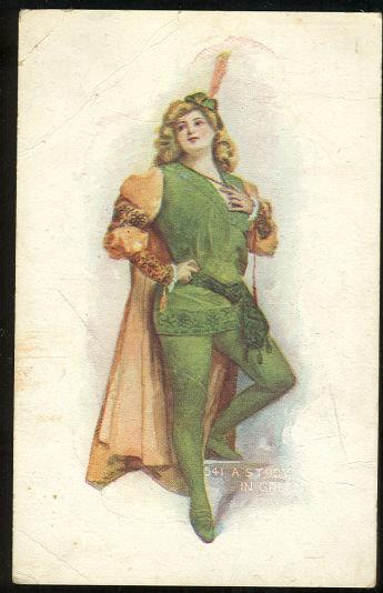Image for LOVELY LADY DRESSED UP, A STUDY IN GREEN