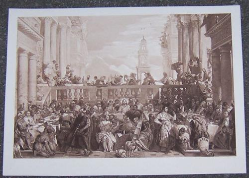 Image for PRINT OF PAOLO VERONESE LES NOCES DE CANA