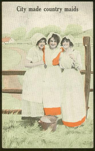Image for THREE LOVELY CITY MADE COUNTRY MAIDS