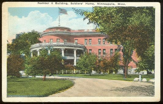 Image for NUMBER 6 BUILDING SOLDIER'S HOME MINNEAPOLIS, MINNESOTA