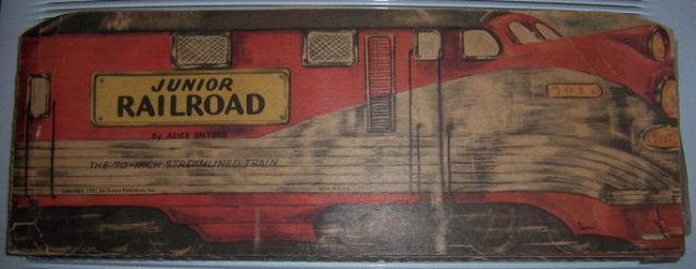 JUNIOR RAILROAD The 70-Inch Streamlined Train, Snyder, Alice