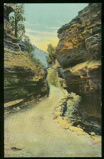 NARROWS, WILLIAM CANON, COLORADO, Postcard