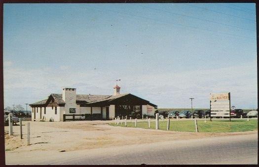 RANCH RESTAURANT MONTGOMERY, ALABAMA, Postcard