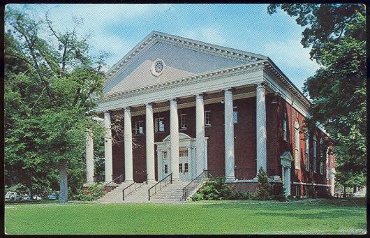 Image for UNION CHURCH, BEREA COLLEGE, BEREA KENTUCKY