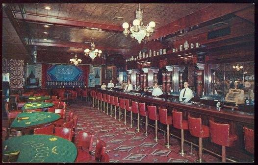 GOLDEN NUGGET GAMBLING HALL AND SALOON, LAS VEGAS, NEVADA, Postcard