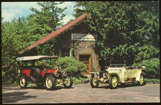 ESTES-WINN-BLOMBERG MEMORIAL ANTIQUE CAR MUSEUM, GROVEWOOD ROAD, ASHEVILLE, NORTH CAROLINA, Postcard